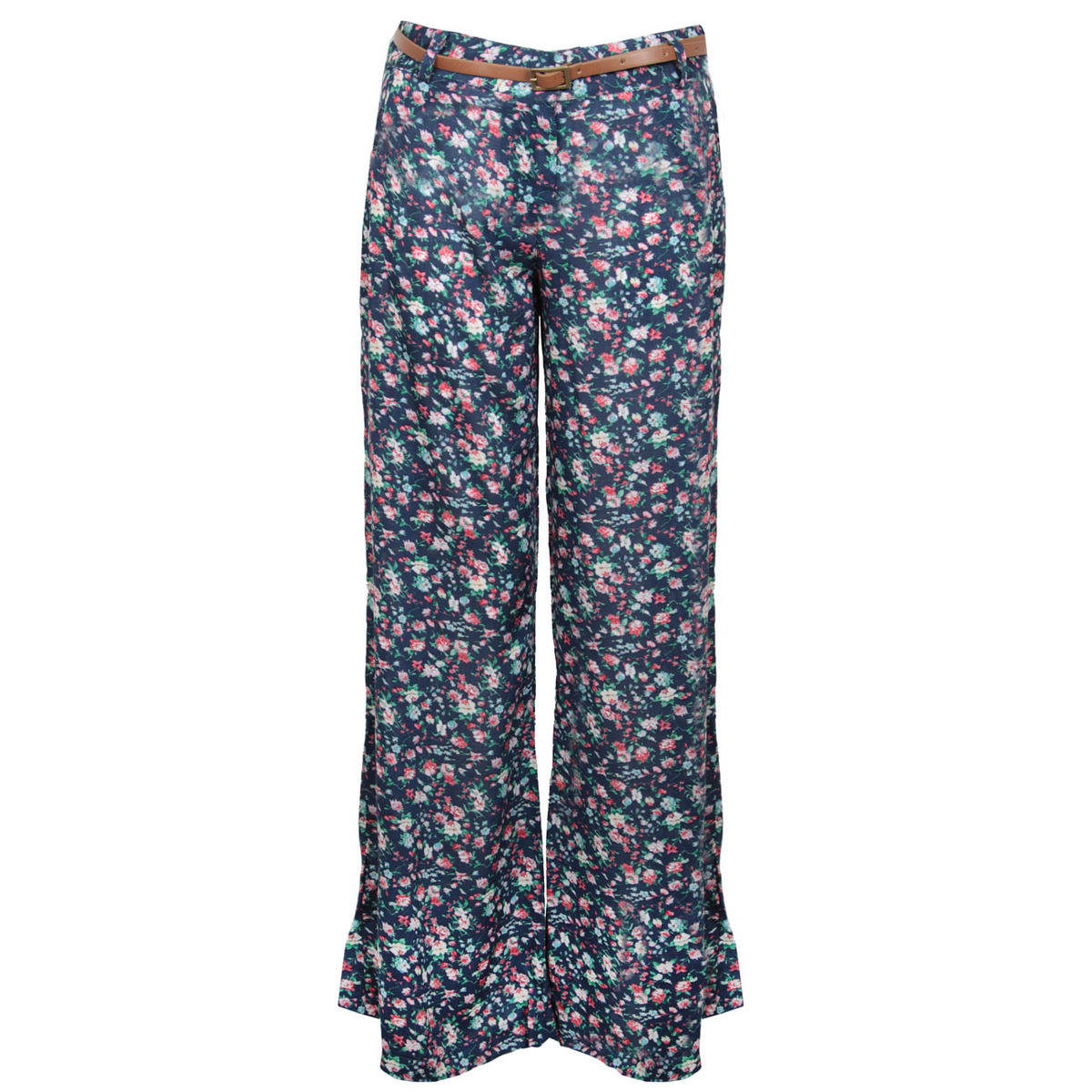 Floral Print Belted Palazzo Trouser Preview