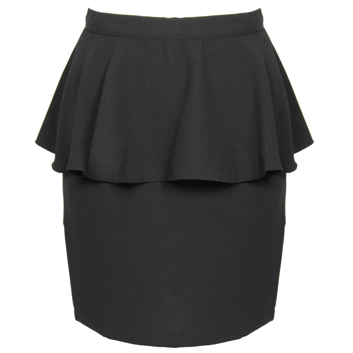 Black Peplum Skirt Preview