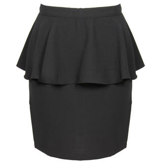 View Item Black Peplum Skirt