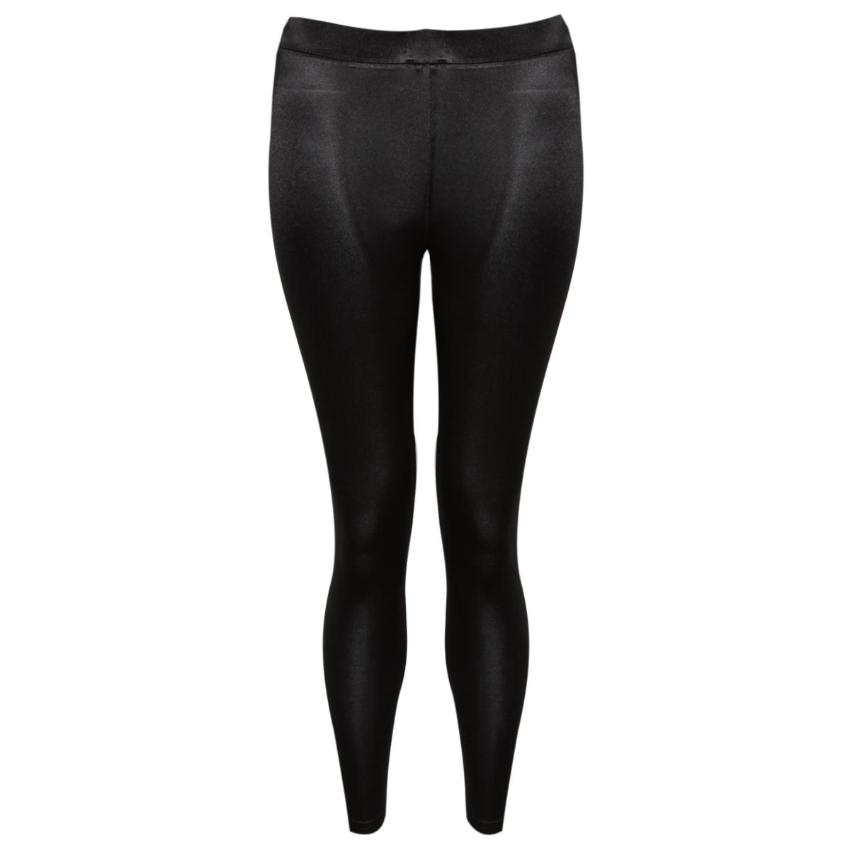Black High Shine Leggings Preview