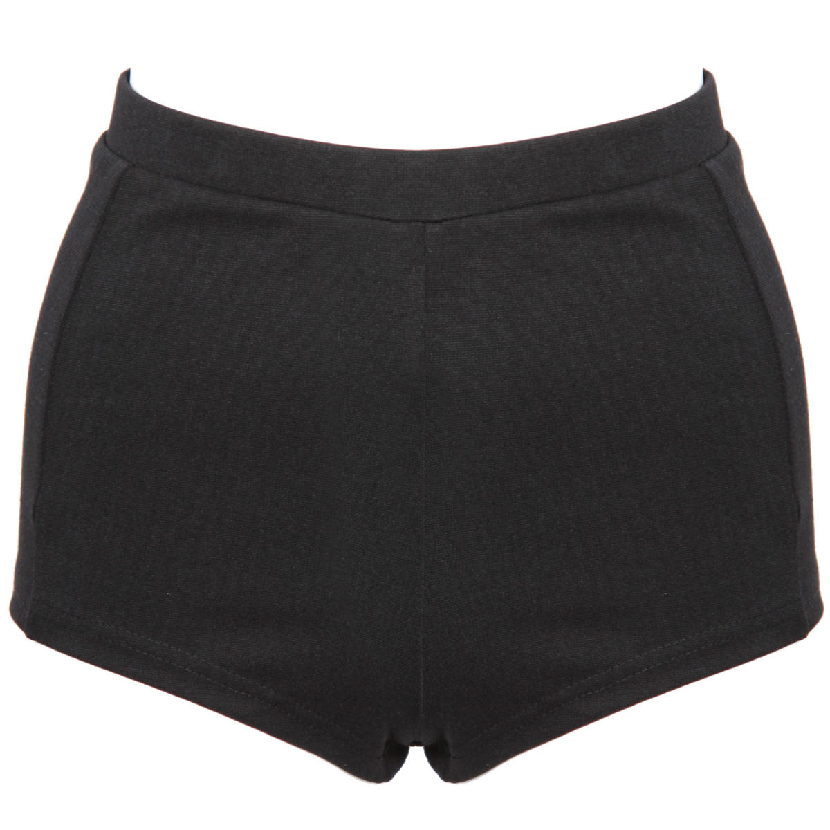 Black High Waisted Knicker Shorts Preview