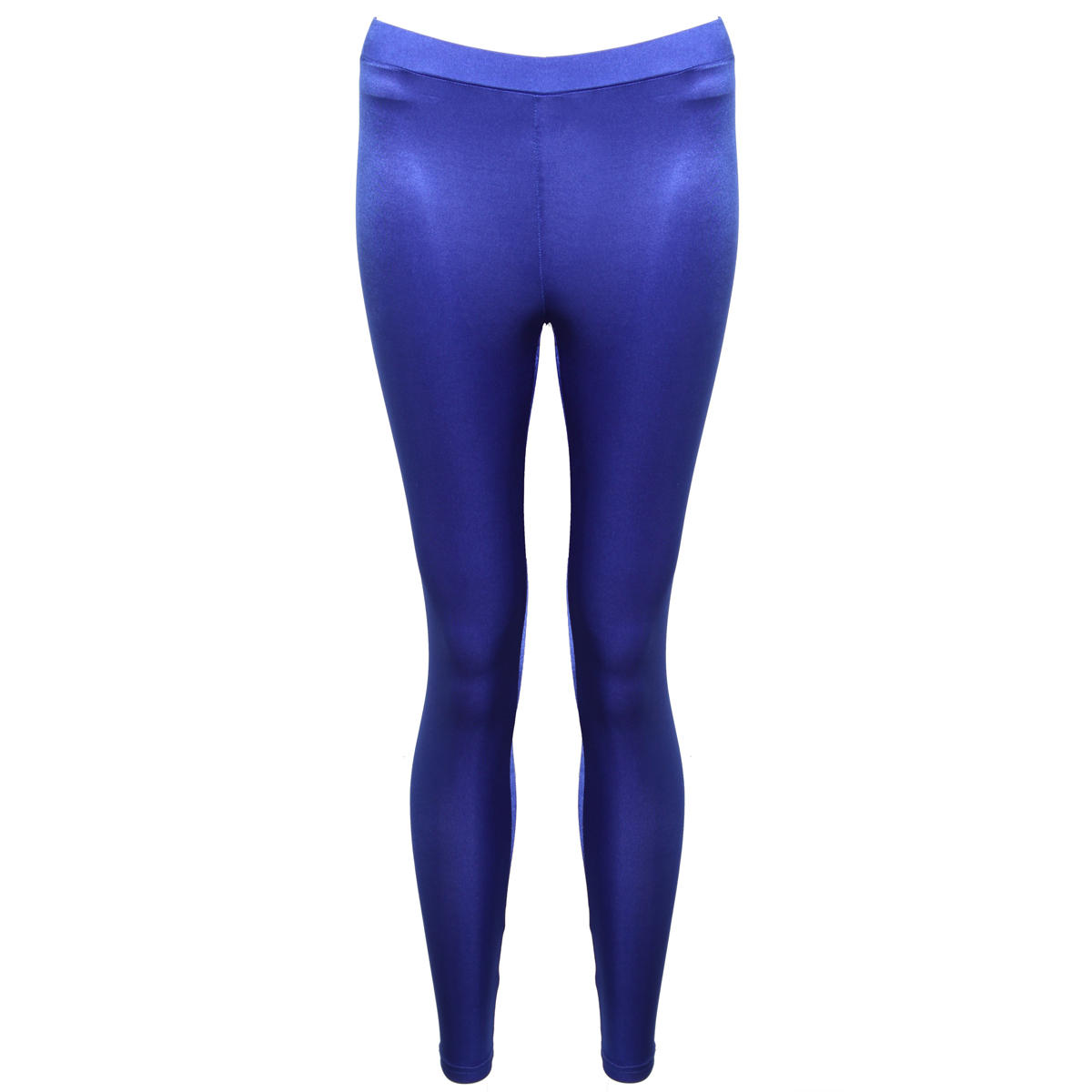 Blue High Shine Leggings Preview