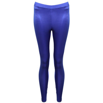 View Item Blue High Shine Leggings
