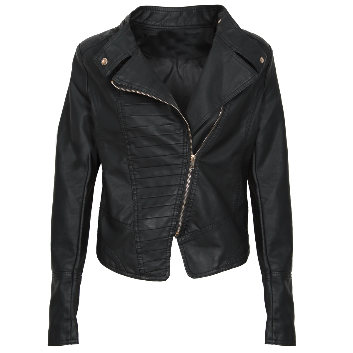 PU Leather Biker Jacket Preview