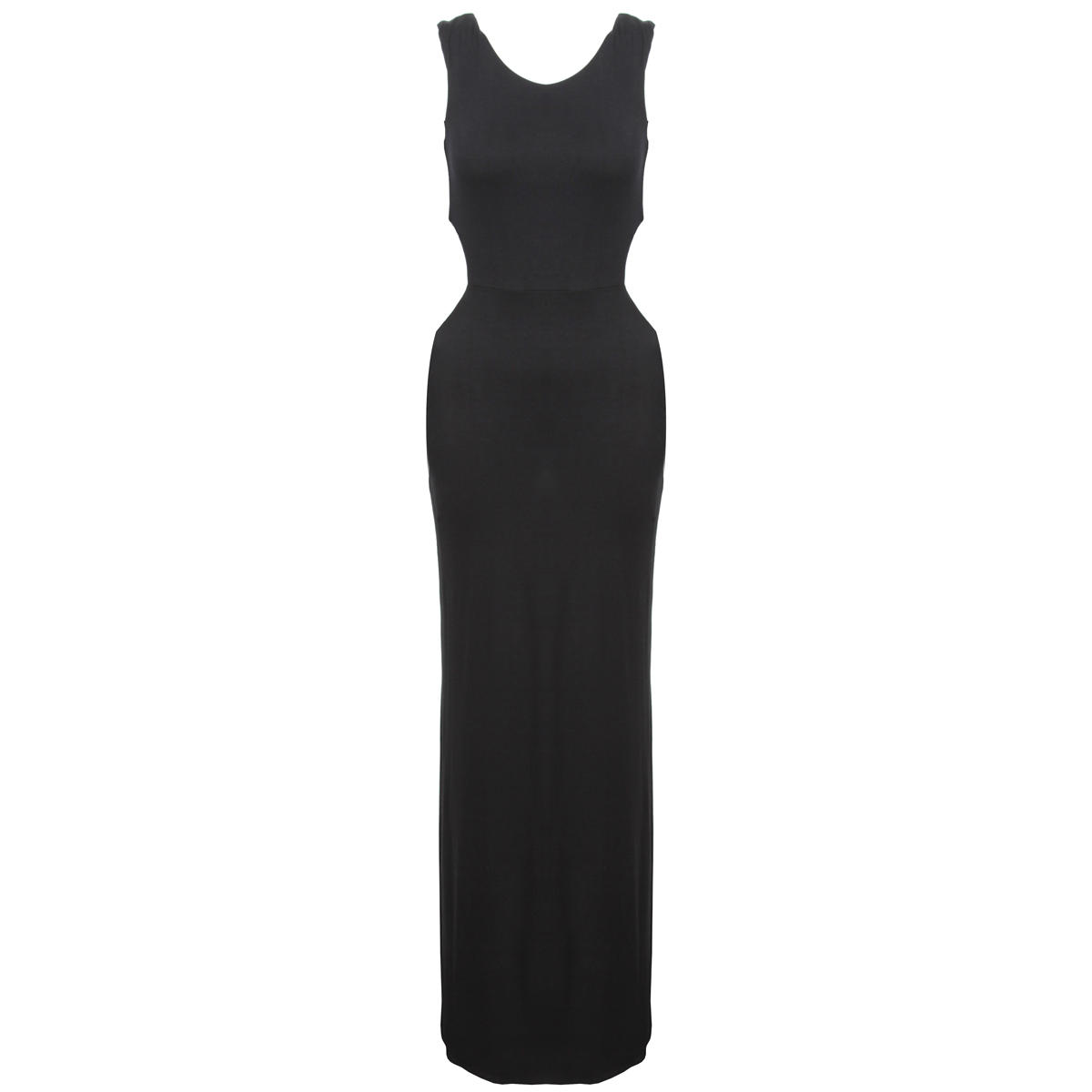 Black Cut Out Maxi Dress Preview