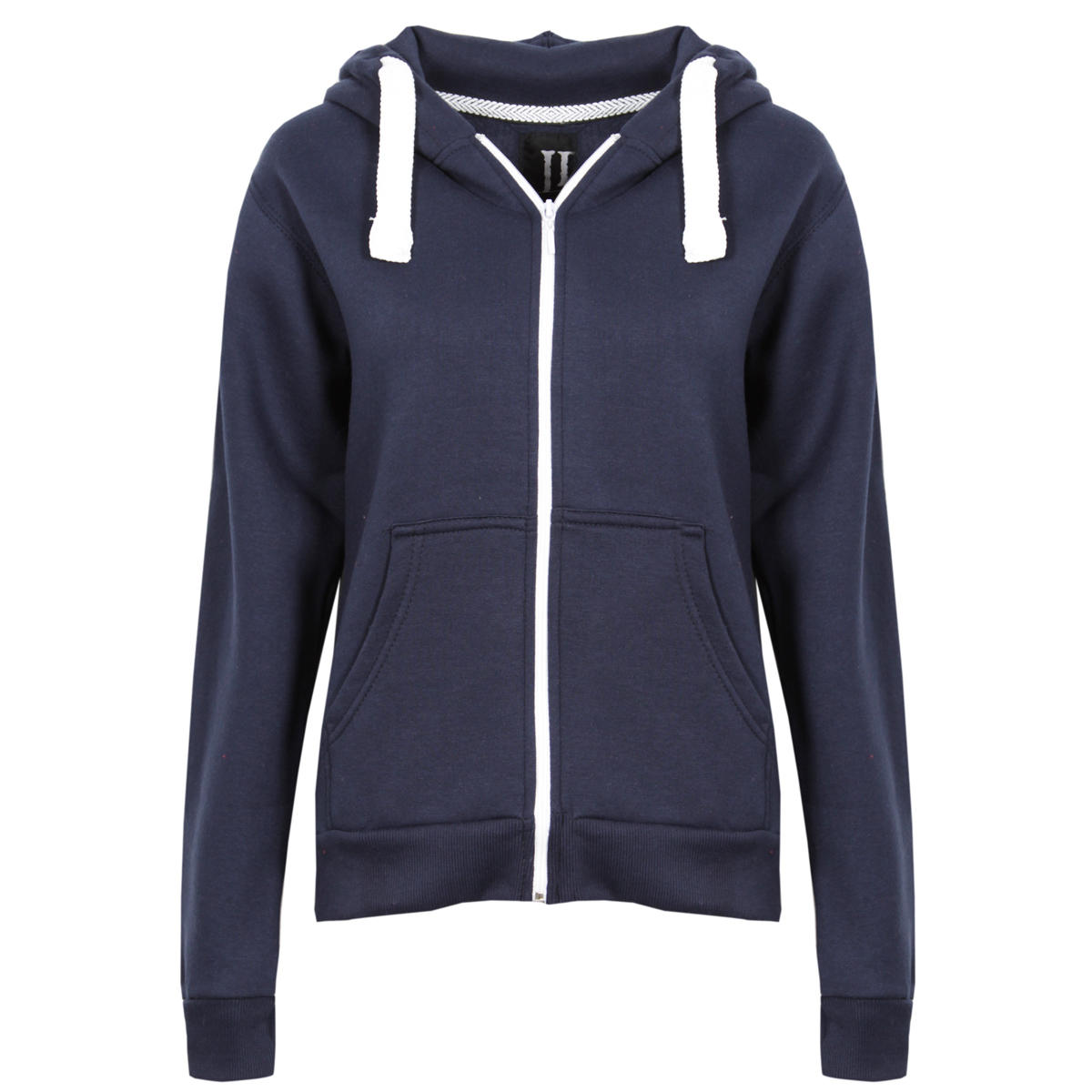 Navy Zip Up Hoodie Preview