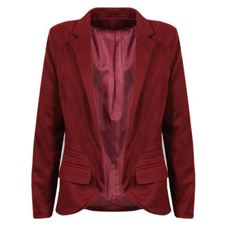 View Item Burgundy Blazer