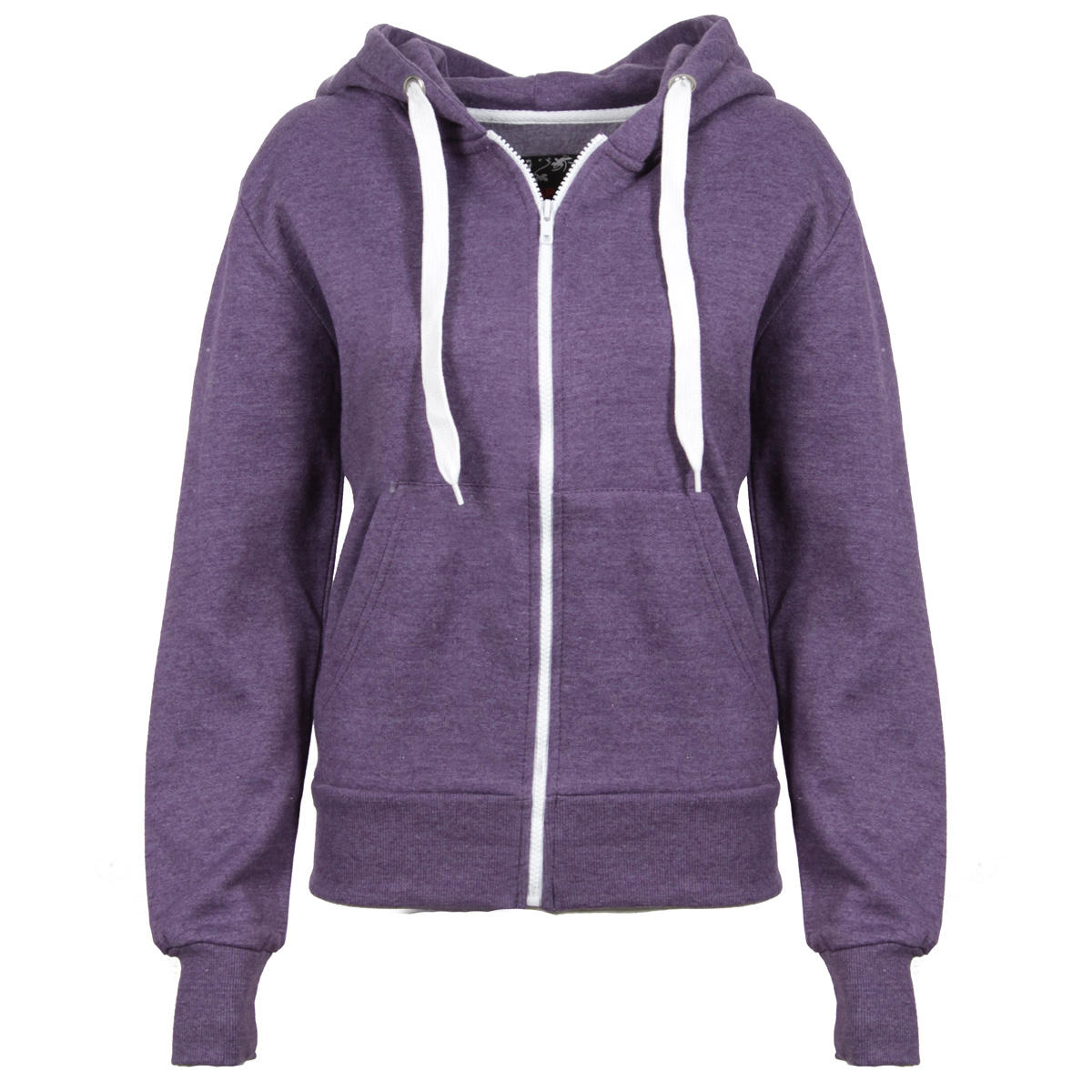 Purple Melange Effect Hoody Preview