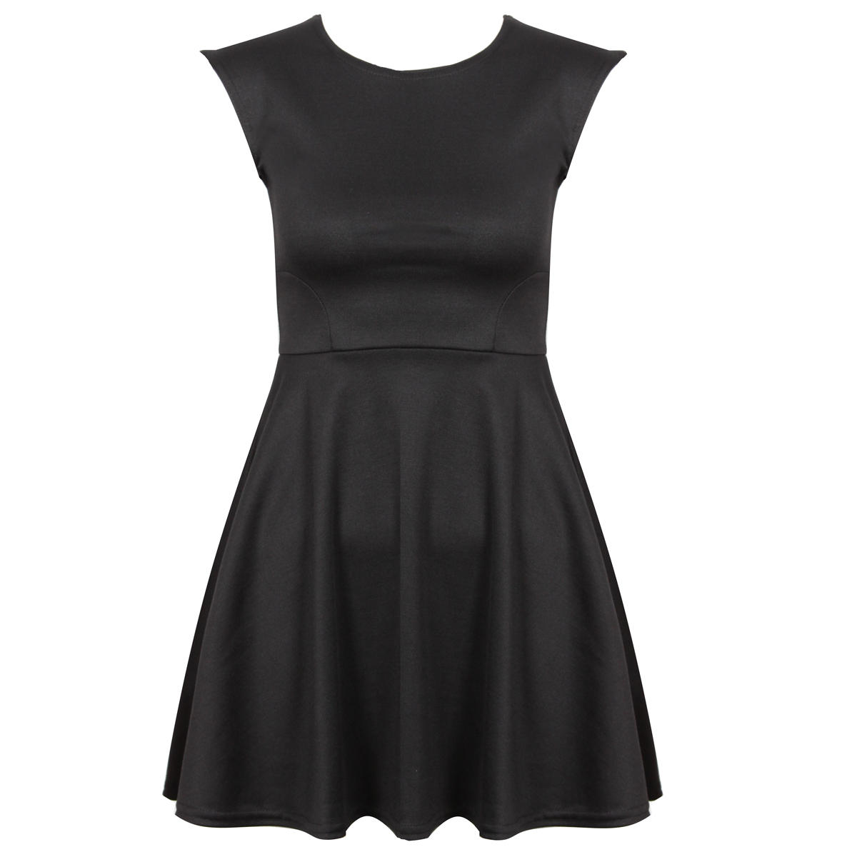 Black Skater Dress Preview