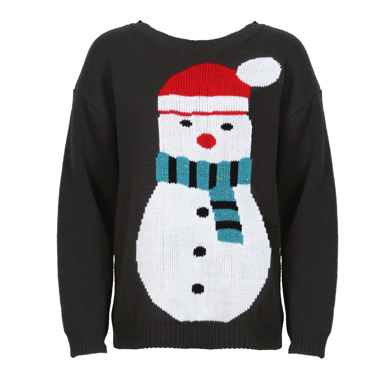 White Snowman Jumper Preview
