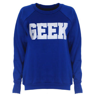 View Item Blue Geek Sweatshirt