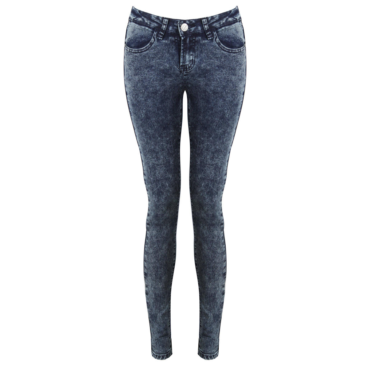 Blue Acid Denim Super Skinny Jeans Preview