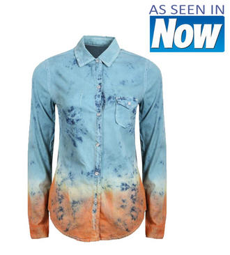View Item Dip Dye Denim Shirt