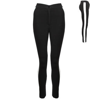 View Item High Waisted Contrast Panel Treggings