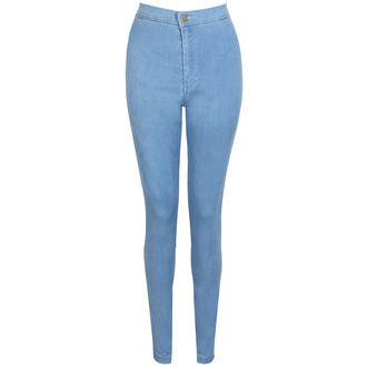 View Item Denim High Waisted Skinny Jeans