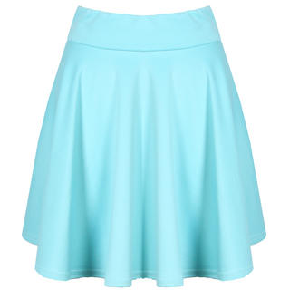 View Item Light Blue Scuba Skater Skirt