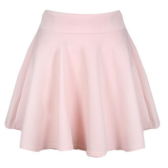 View Item Pink Scuba Skater Skirt