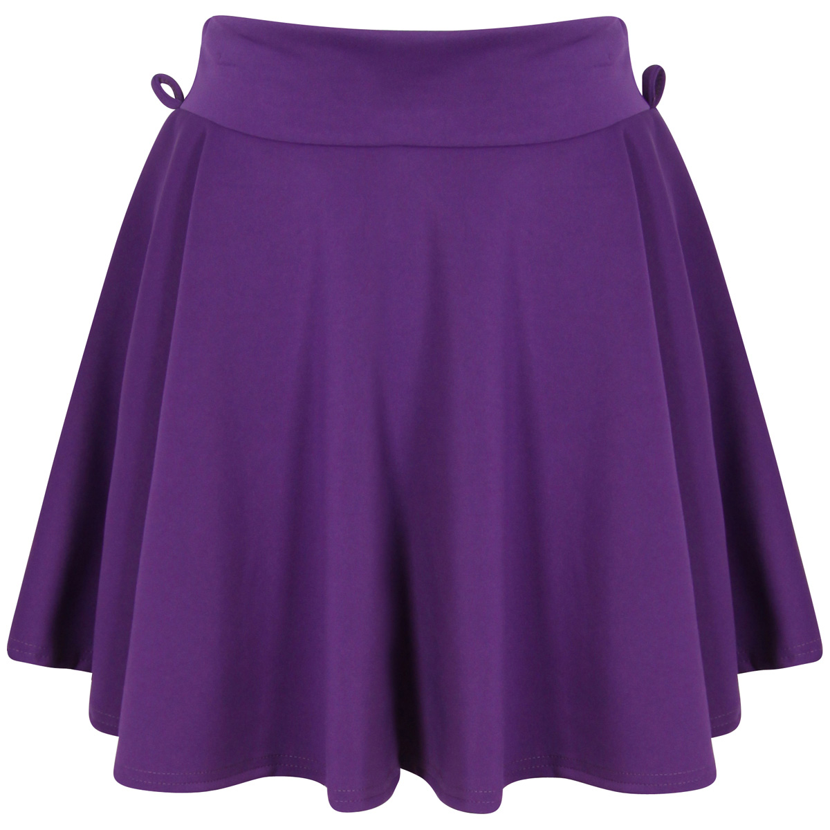 Purple Scuba Skater Skirt Preview