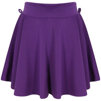 View Item Purple Scuba Skater Skirt