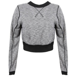 View Item Grey Cropped Sweatshirt