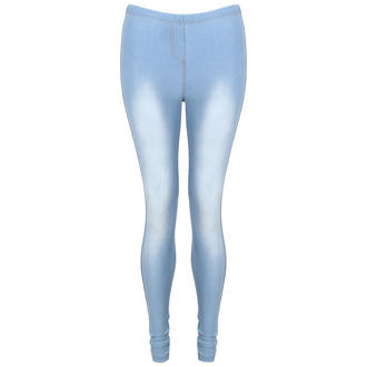 View Item Faded Denim Leggings