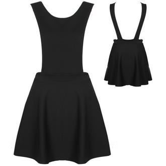 View Item Black Pinafore Skater Dress