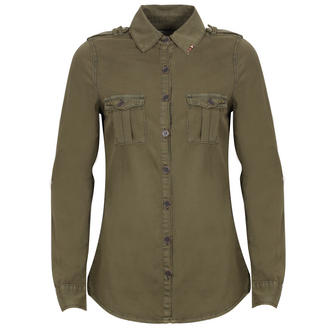 View Item Khaki Studded Shirt