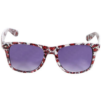 View Item Red Cheetah Wayfarer Sunglasses