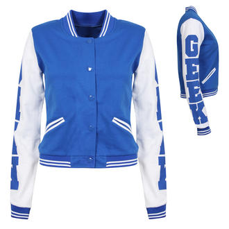View Item Royal Blue GEEK Baseball Jacket