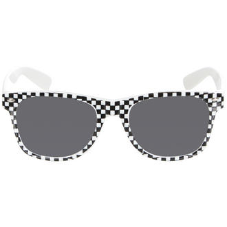 View Item Black Checkered Wayfarer Sunglasses