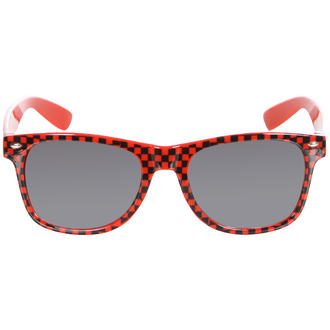 View Item Red Checkered Wayfarer Sunglasses