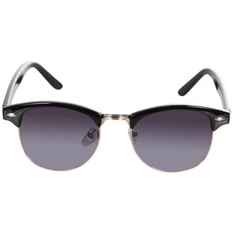 View Item Black Half Rim Geek Sunglasses