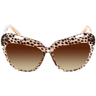 View Item Brown Cat Eye Shape Sunglasses