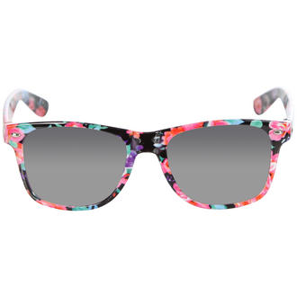 View Item Pink Floral Wayfarer Sunglasses