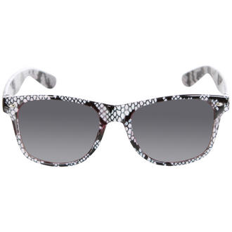View Item Grey Snake Print Wayfarer Sunglasses