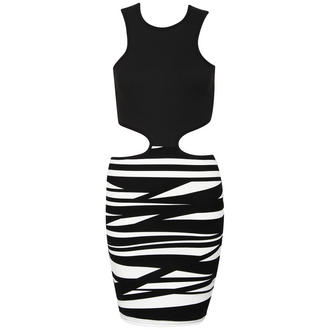 View Item Black Cut Out Bodycon Dress