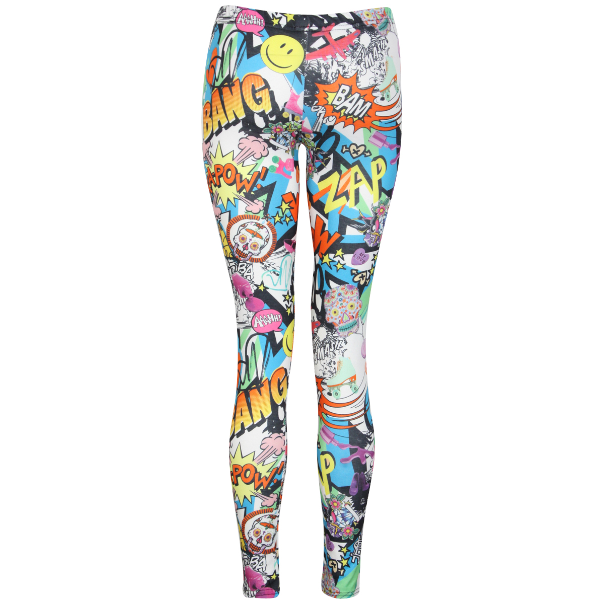 Comic Print Leggings Preview