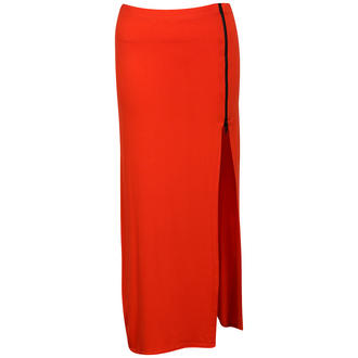 View Item Orange Jersey Maxi Skirt