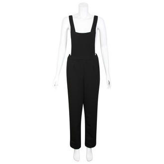 View Item Black Pinafore Jumpsuit