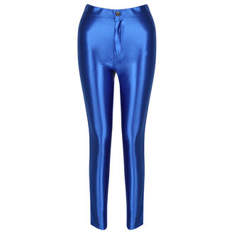 View Item Blue Shiny Disco Pants