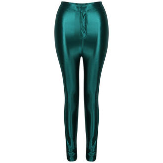 View Item Green Shiny High Waisted Disco Pants