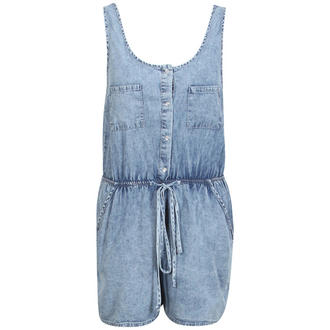 View Item Denim Sleeveless Playsuit