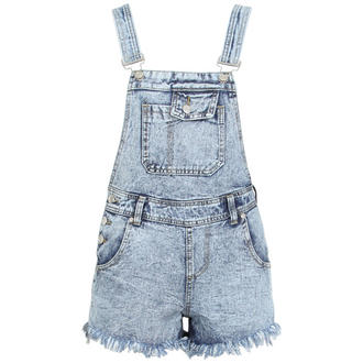 View Item Denim Dungaree Playsuit