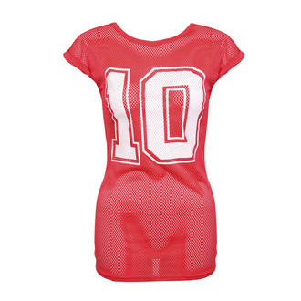 View Item Red American Football Top
