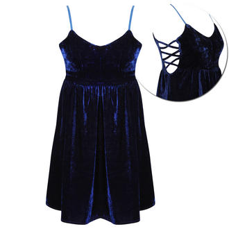 View Item Velvet Strappy Cut Out Dress