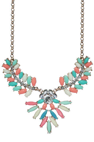 View Item Pastel Jewel Necklace