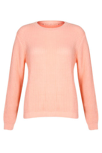 View Item Peach Knitted Jumper