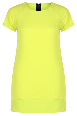 View Item Lime Green Shift Dress