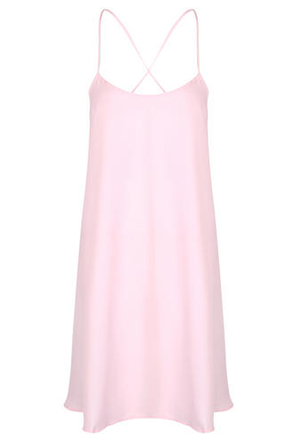 View Item Light Pink Cami Swing Dress
