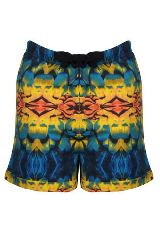 View Item Bellfield Patterned Runner Shorts